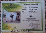 Piagam Juara Kontes Kambing Etawa_Cakra Buana Purworejo  Mei 2015
